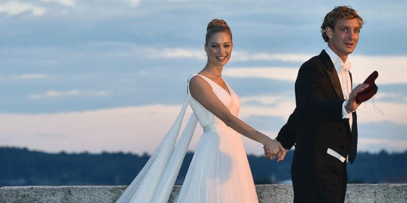 Pierre Casiraghi y Beatrice Borromeo
